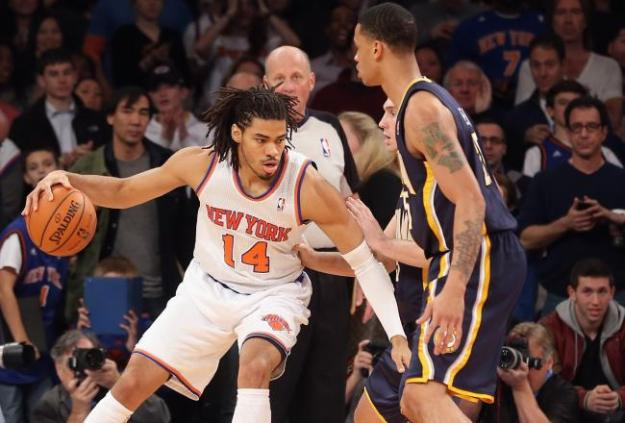 Knicks 90, Pacers 80