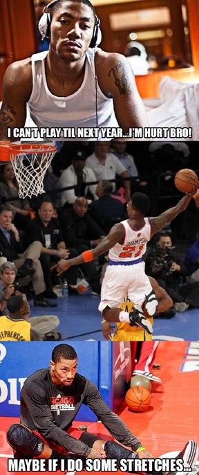 Stretch, Derrick. Stretch!