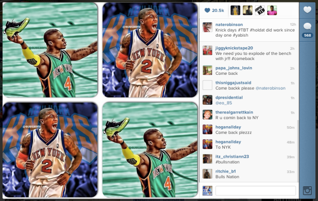 Is Nate Robinson in a New York State of Mind?