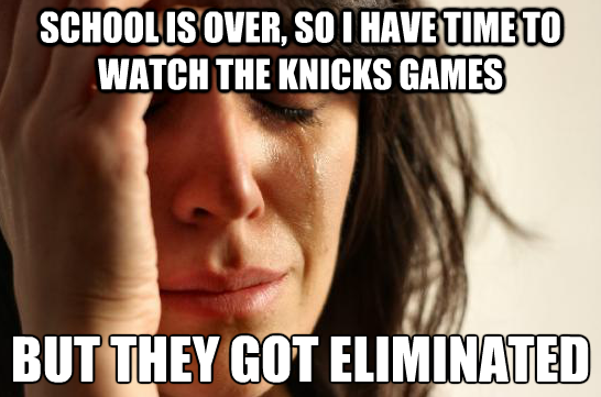 Knicks Fan Problems