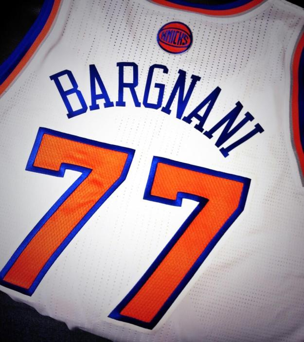 Bargnani will wear #77