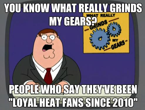 Heat Fans Grind Peter's Gears