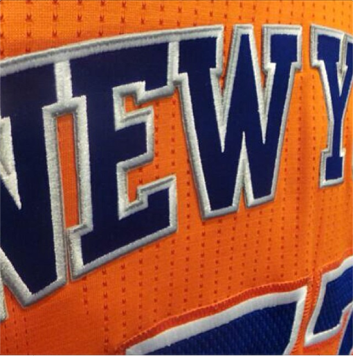 It will be interesting to see how often the Knicks wear these orange  uniforms once the real season starts. 19a701884