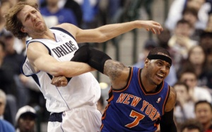 KNICKS MAVERICKS LIN