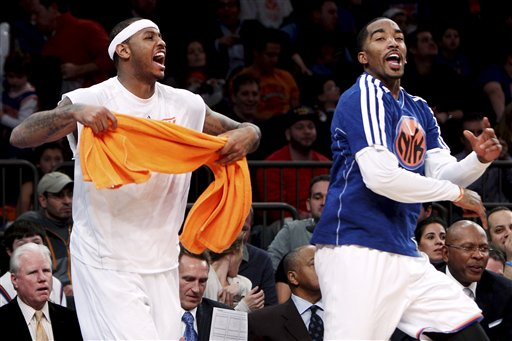 Carmelo Anthony, J.R. Smith