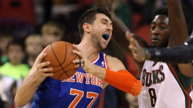 NBA: Preseason-New York Knicks at Milwaukee Bucks