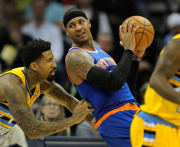 Denver Nuggets New York Knicks