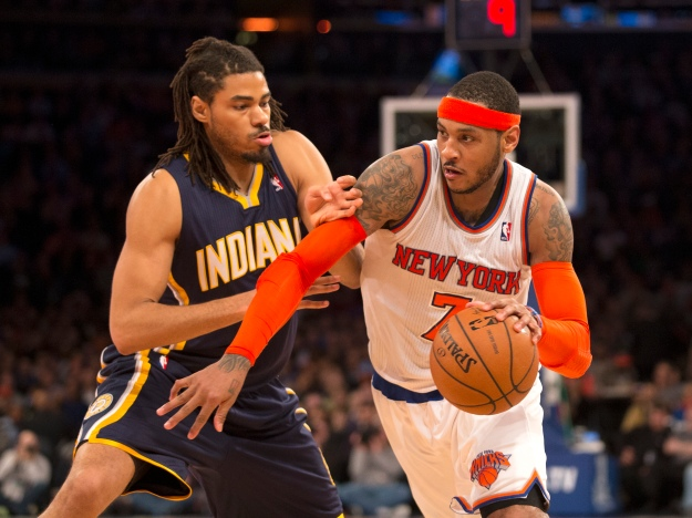 New York, Basketball, NBA New York Knicks, Indiana Pacers, Madison Square Garden