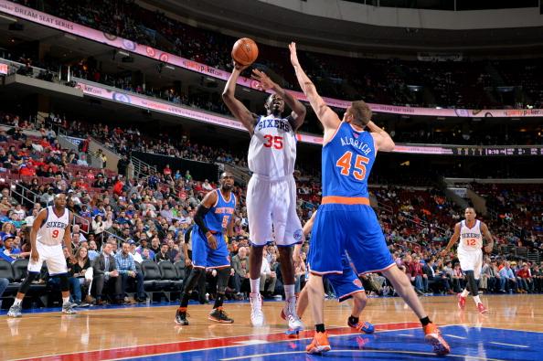 New York Knicks  v Philadelphia 76ers